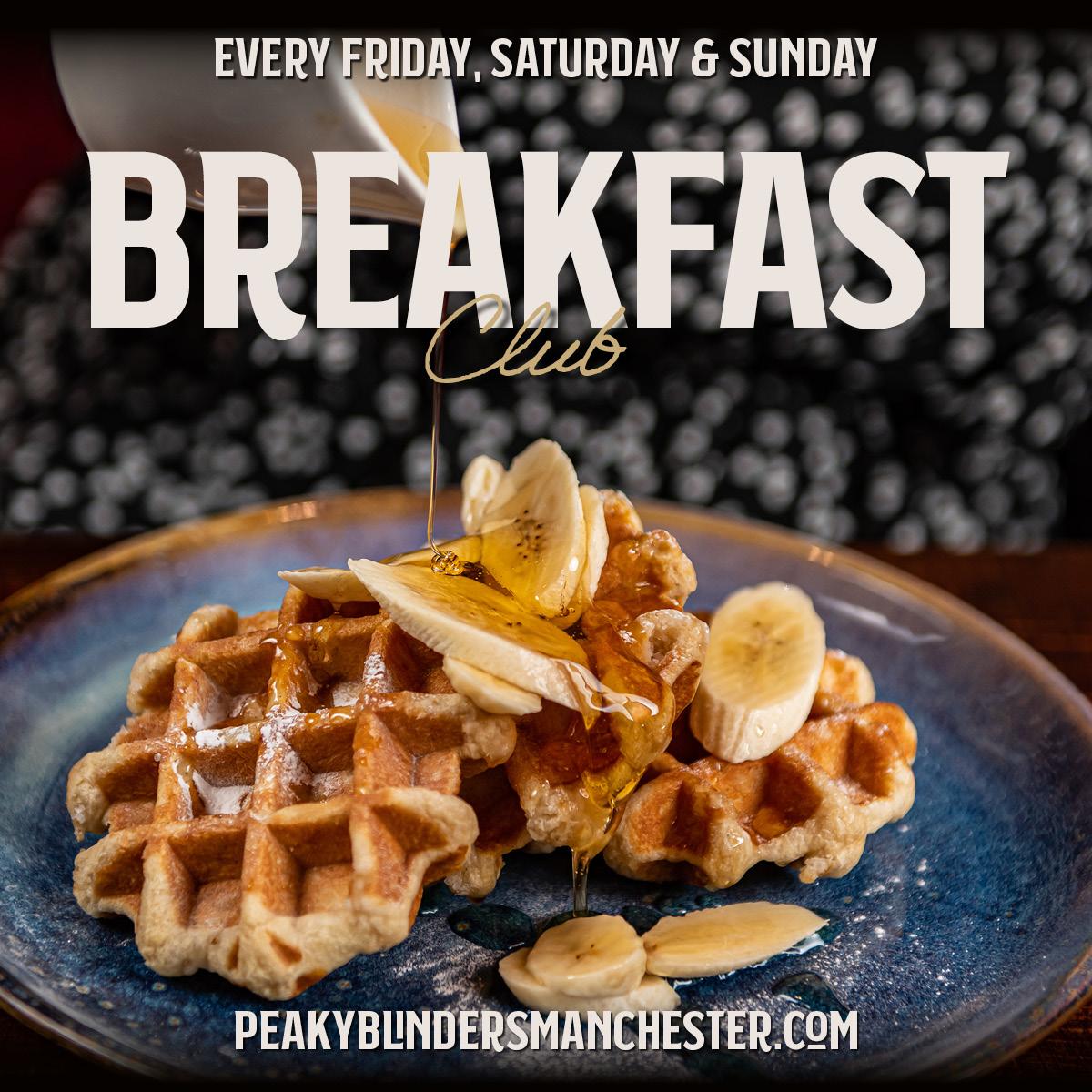 Food Offers Peaky Blinders Breakfast