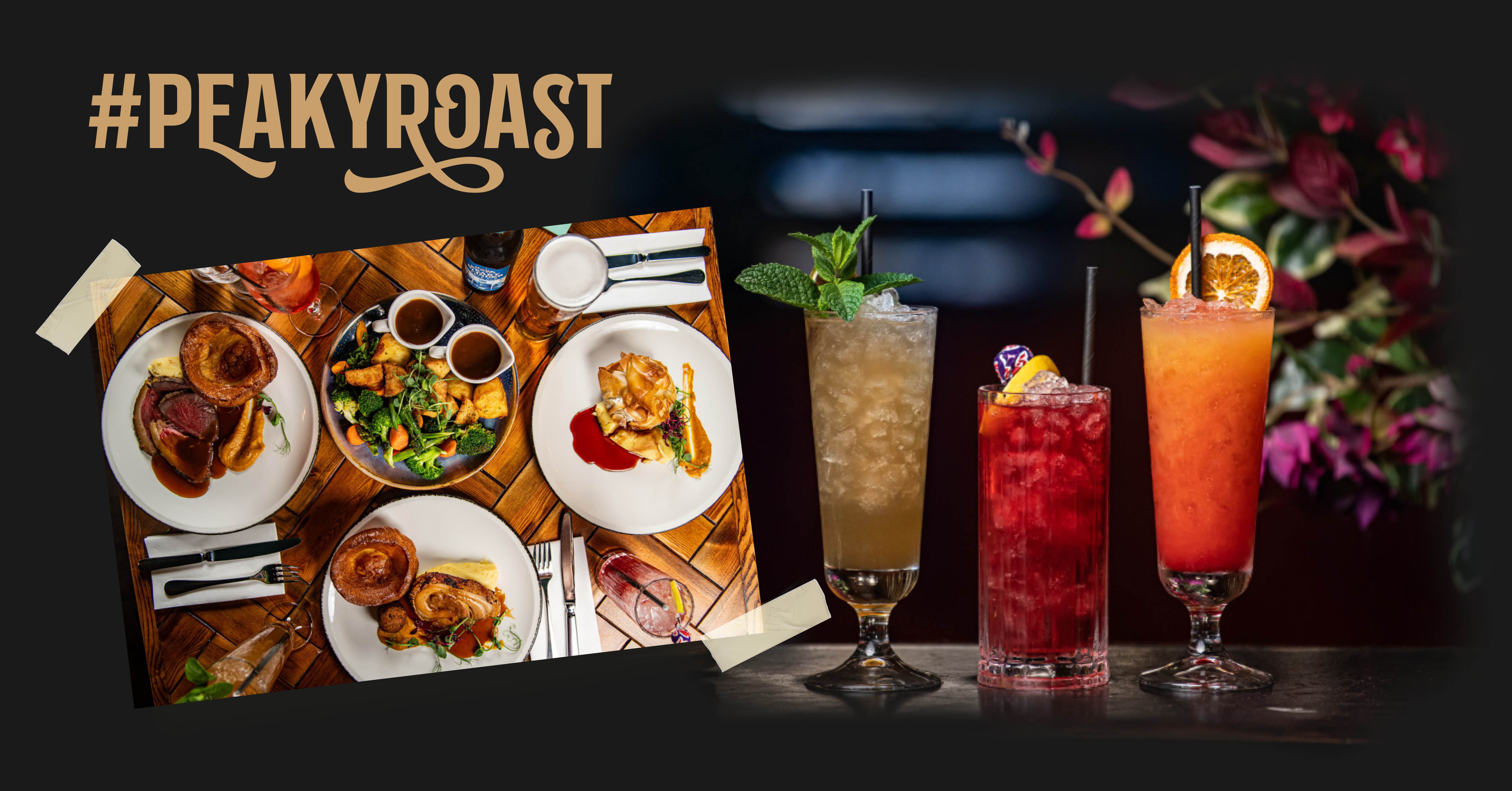 Peaky Blinders Manchester Bottomless Roast